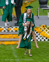 3984 Vashon Island High School Graduation 2014 061414