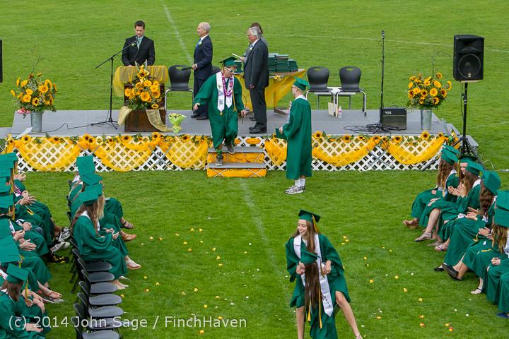 4003 Vashon Island High School Graduation 2014 061414