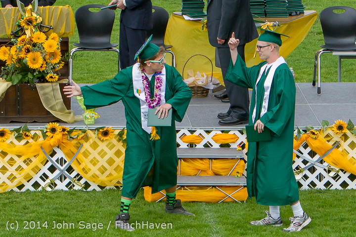 4005 Vashon Island High School Graduation 2014 061414