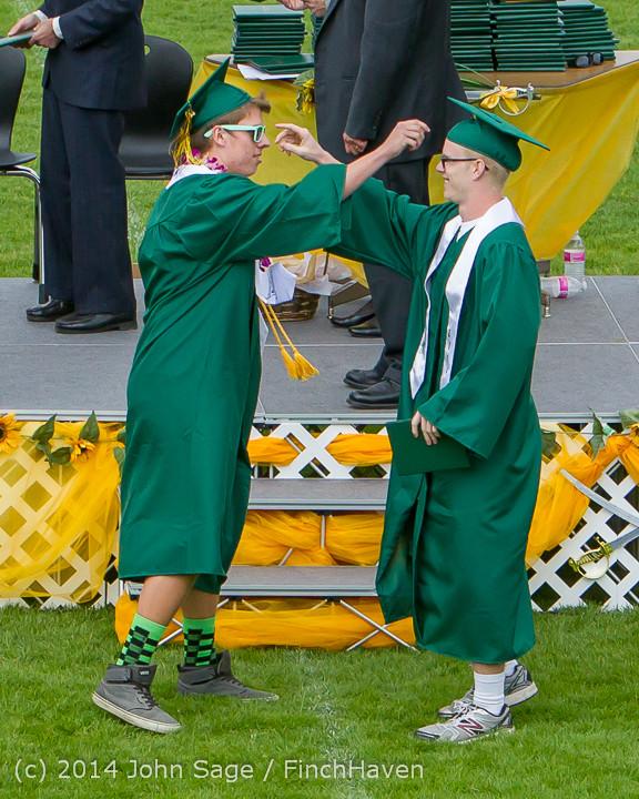 4007 Vashon Island High School Graduation 2014 061414