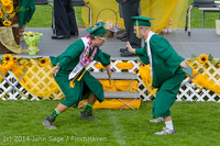 4008 Vashon Island High School Graduation 2014 061414