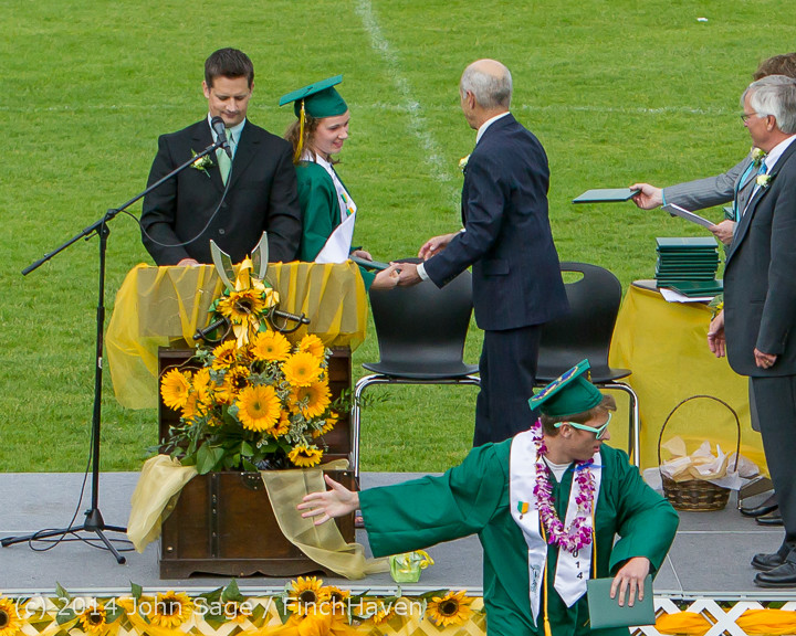 4012 Vashon Island High School Graduation 2014 061414