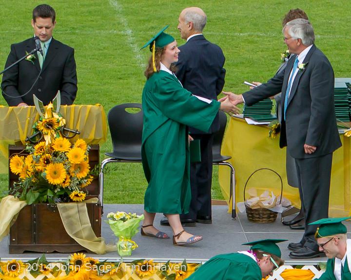 4015 Vashon Island High School Graduation 2014 061414