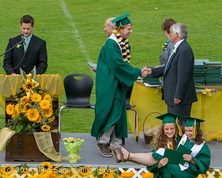 4051 Vashon Island High School Graduation 2014 061414