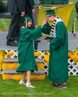 4054 Vashon Island High School Graduation 2014 061414
