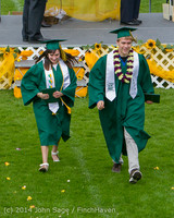 4055 Vashon Island High School Graduation 2014 061414