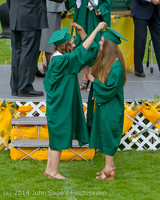 4071 Vashon Island High School Graduation 2014 061414