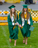 4072 Vashon Island High School Graduation 2014 061414