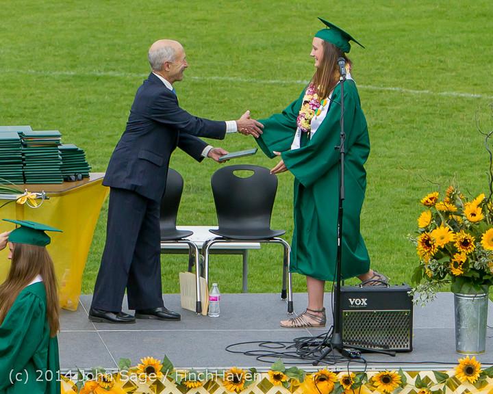 4074 Vashon Island High School Graduation 2014 061414