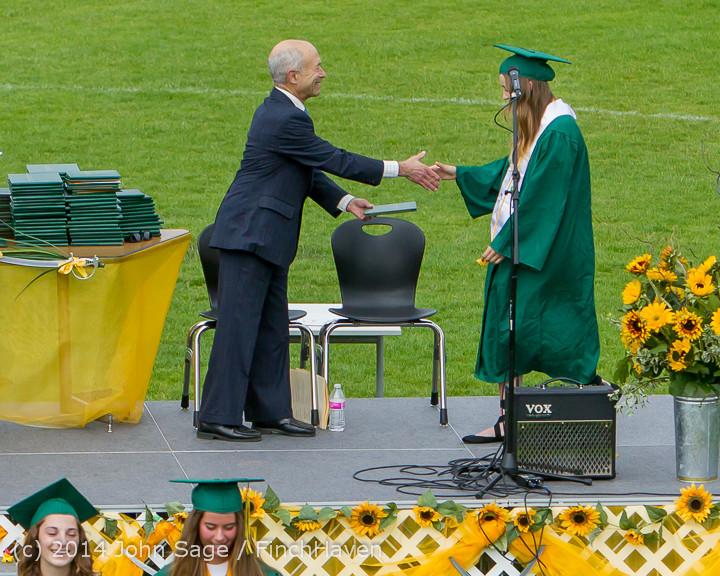 4082 Vashon Island High School Graduation 2014 061414