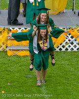 4090 Vashon Island High School Graduation 2014 061414