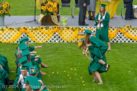 4100 Vashon Island High School Graduation 2014 061414