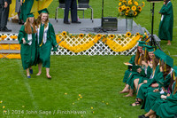 4167 Vashon Island High School Graduation 2014 061414