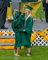 4194 Vashon Island High School Graduation 2014 061414