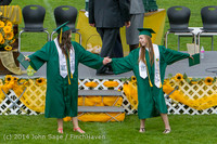 4215 Vashon Island High School Graduation 2014 061414