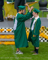 4232 Vashon Island High School Graduation 2014 061414