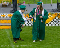 4261 Vashon Island High School Graduation 2014 061414