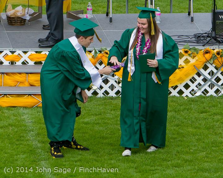 4261 Vashon Island High School Graduation 2014 061414