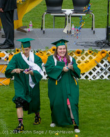 4274 Vashon Island High School Graduation 2014 061414