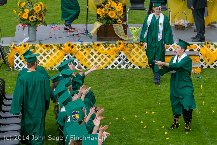 4277 Vashon Island High School Graduation 2014 061414
