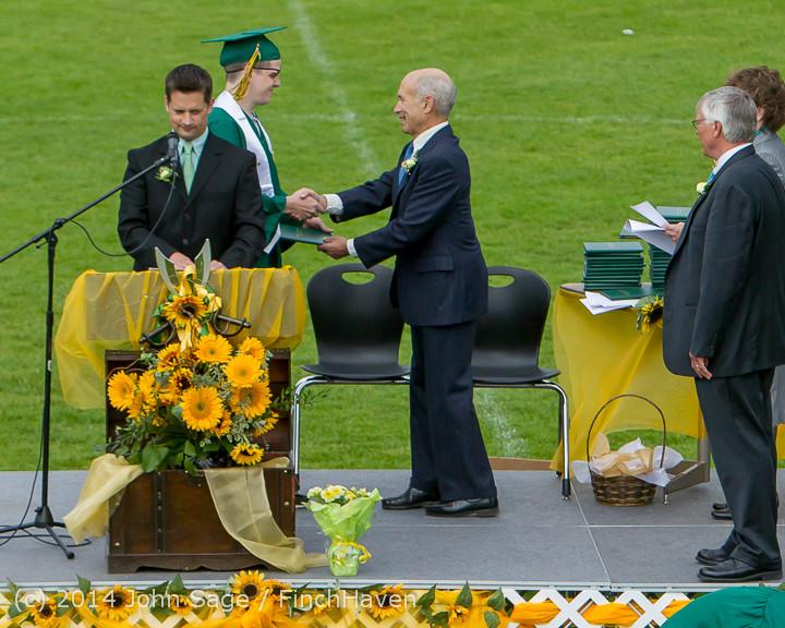 4285 Vashon Island High School Graduation 2014 061414