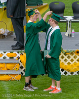 4305 Vashon Island High School Graduation 2014 061414