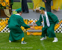 4361 Vashon Island High School Graduation 2014 061414