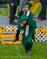4378 Vashon Island High School Graduation 2014 061414