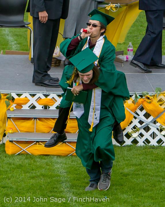 4378 Vashon Island High School Graduation 2014 061414