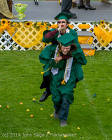 4382 Vashon Island High School Graduation 2014 061414