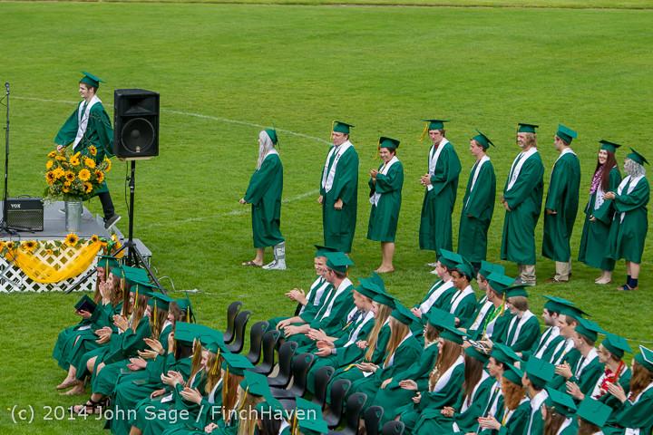 4383 Vashon Island High School Graduation 2014 061414