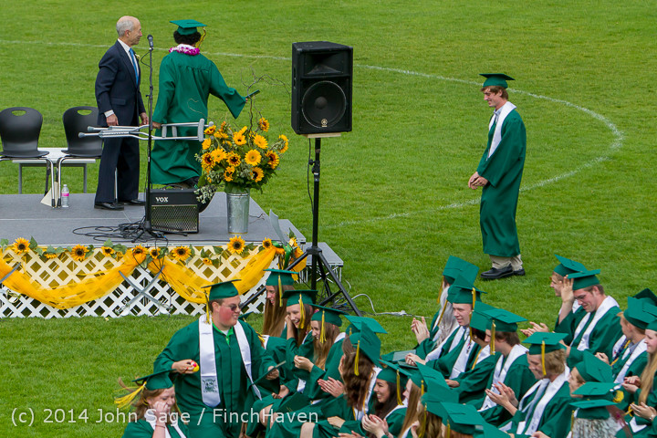 4523 Vashon Island High School Graduation 2014 061414