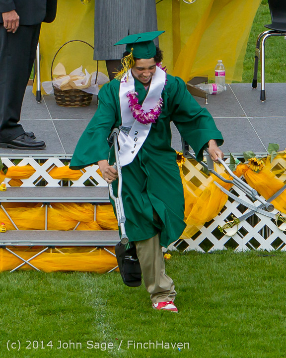 4537 Vashon Island High School Graduation 2014 061414