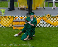 4566 Vashon Island High School Graduation 2014 061414