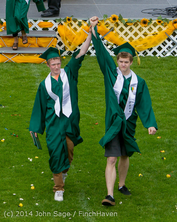 4588 Vashon Island High School Graduation 2014 061414