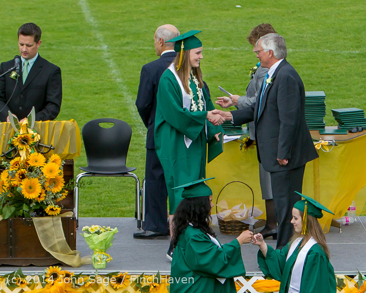 4607 Vashon Island High School Graduation 2014 061414