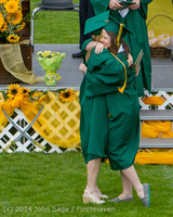 4644 Vashon Island High School Graduation 2014 061414