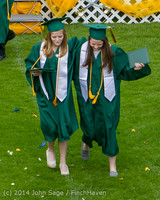 4646 Vashon Island High School Graduation 2014 061414