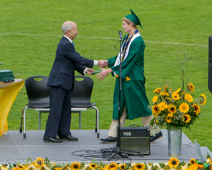 4713 Vashon Island High School Graduation 2014 061414