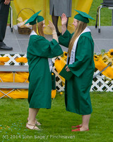 4739 Vashon Island High School Graduation 2014 061414
