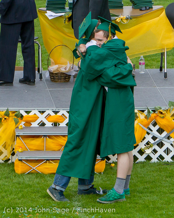 4867 Vashon Island High School Graduation 2014 061414