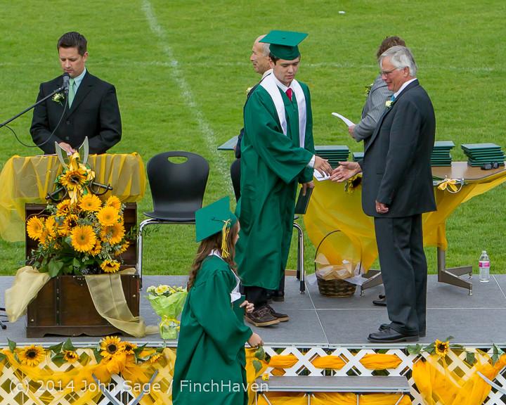 4876 Vashon Island High School Graduation 2014 061414