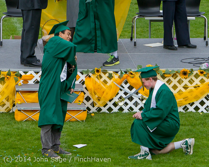 4917 Vashon Island High School Graduation 2014 061414