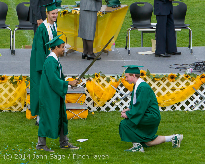 4930 Vashon Island High School Graduation 2014 061414