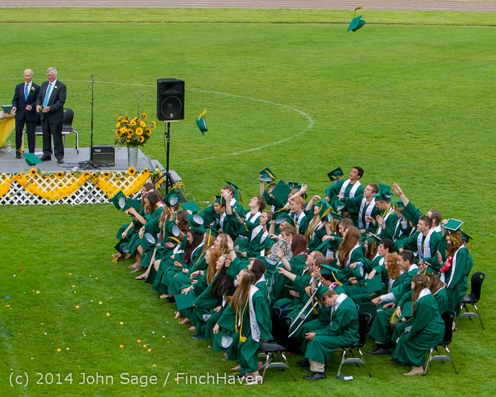 5017 Vashon Island High School Graduation 2014 061414