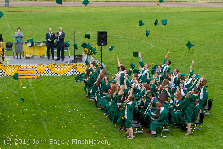 5022 Vashon Island High School Graduation 2014 061414