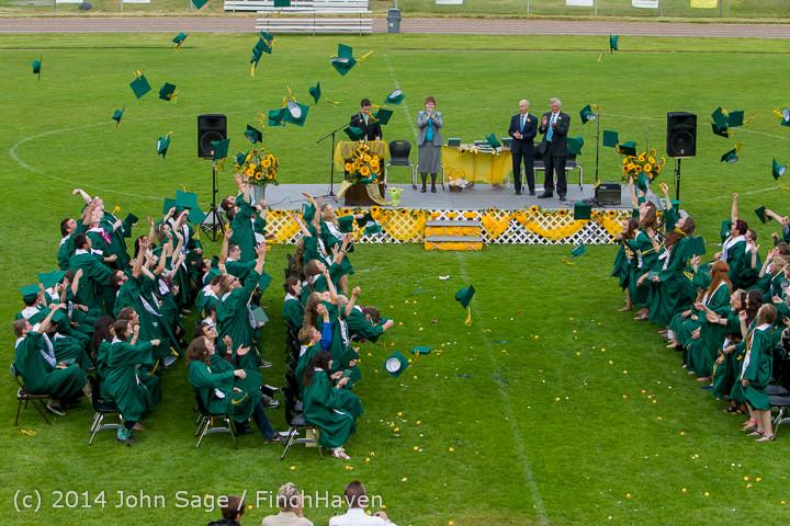 5026 Vashon Island High School Graduation 2014 061414