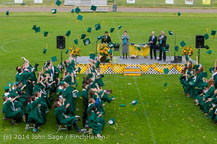 5027 Vashon Island High School Graduation 2014 061414
