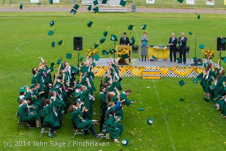 5028 Vashon Island High School Graduation 2014 061414