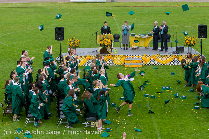 5040 Vashon Island High School Graduation 2014 061414